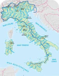 Cartina Italia Fisica Fiumi.Geografia Maestra Maddalena